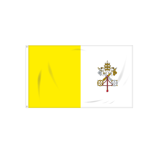 Vatican City (Papal) Flag
