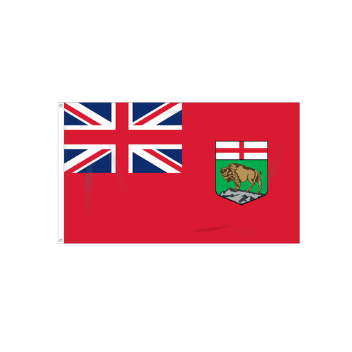 Canadian Province Manitoba Flag