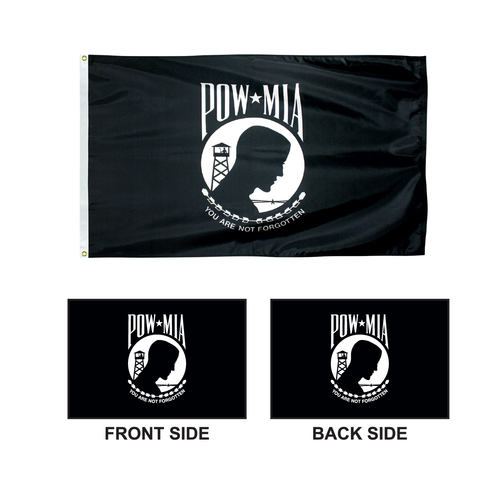 MIA-POW Double Face Flag