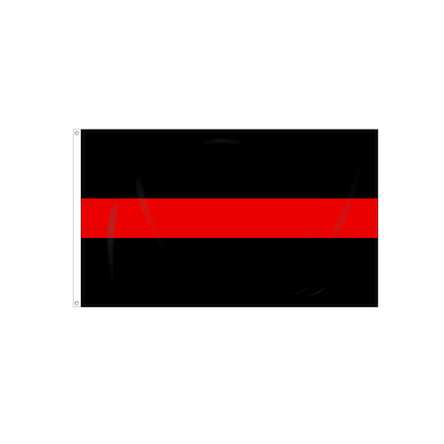 Thin Red Line Flag