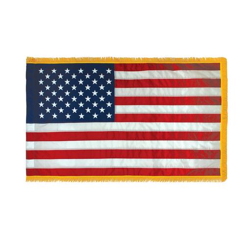 USA with pole hem and fringe