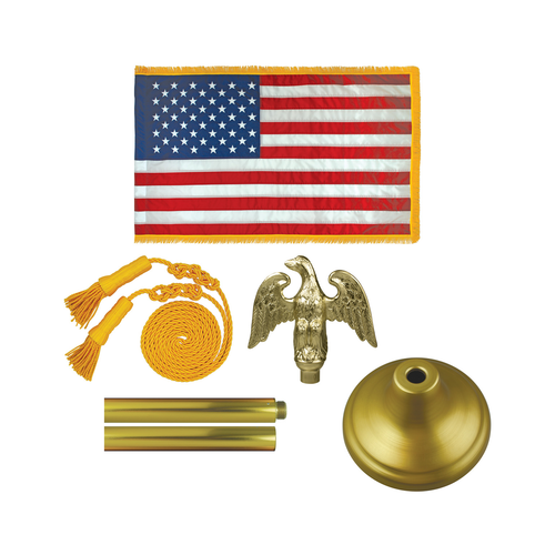 Deluxe Flag Sets with Aluminum Pole