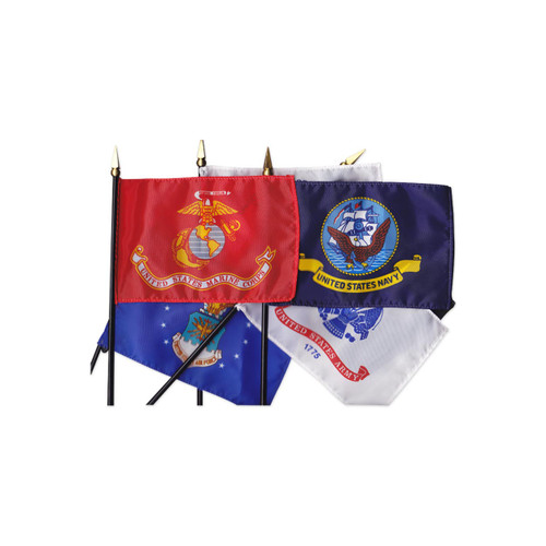 Mounted Military Flag