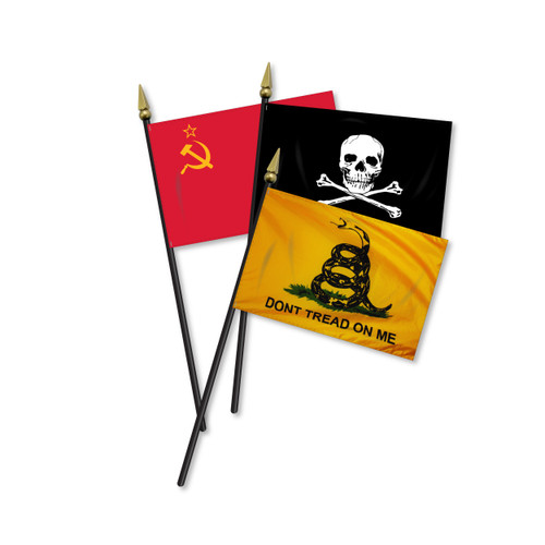 Miscellaneous Mounted Flags