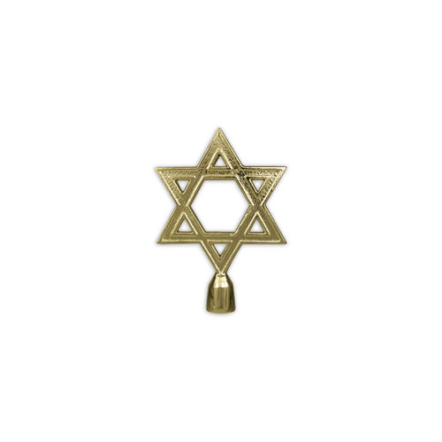 Star of David Pole Ornament