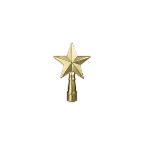Metal Texas Star Pole Ornament
