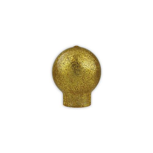 Vinyl Gold Speckle Slip Fit Parade Ball