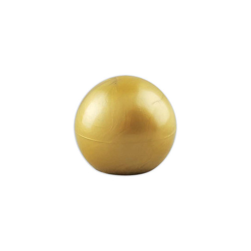 Plastic Gold Slip Fit Parade Ball