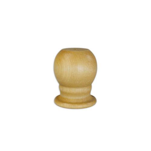 Wood Gold Slip Fit Parade Ball