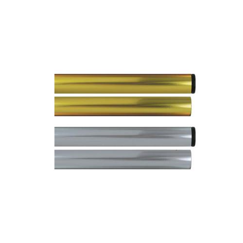 Aluminum Parade Pole with top cap & bottom plug