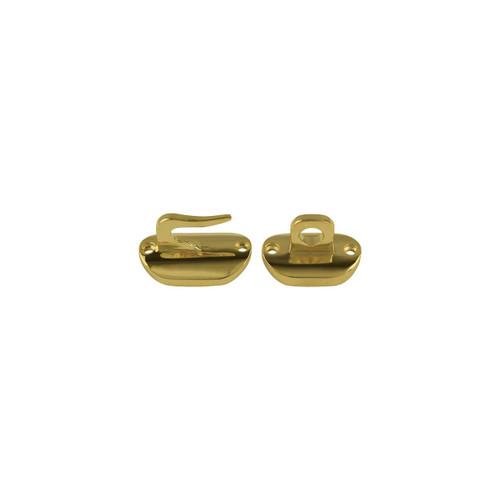 Brass Hook & Eye