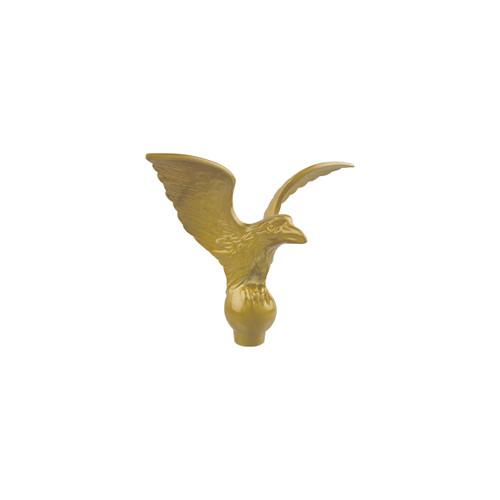 Gold Powder Coated Metal Eagle Ornament