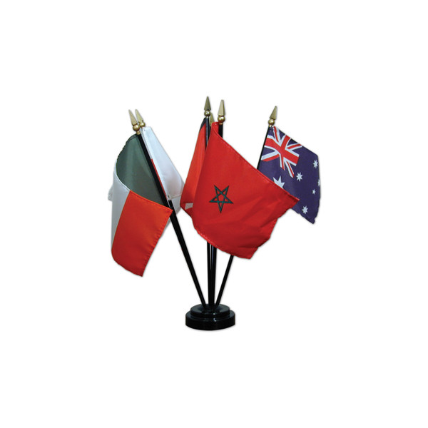 Mounted Flags of the World