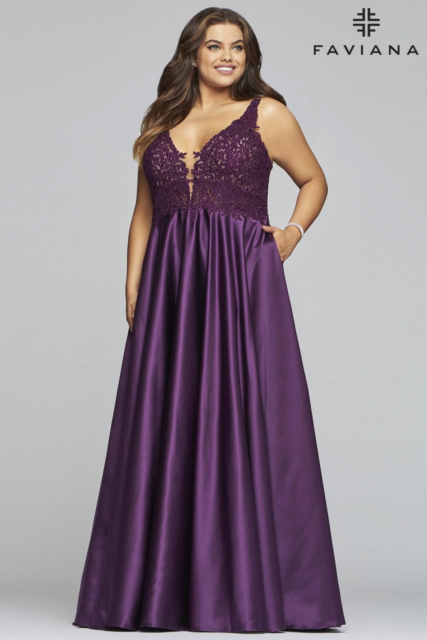 Faviana 9462 Plus Size Dress