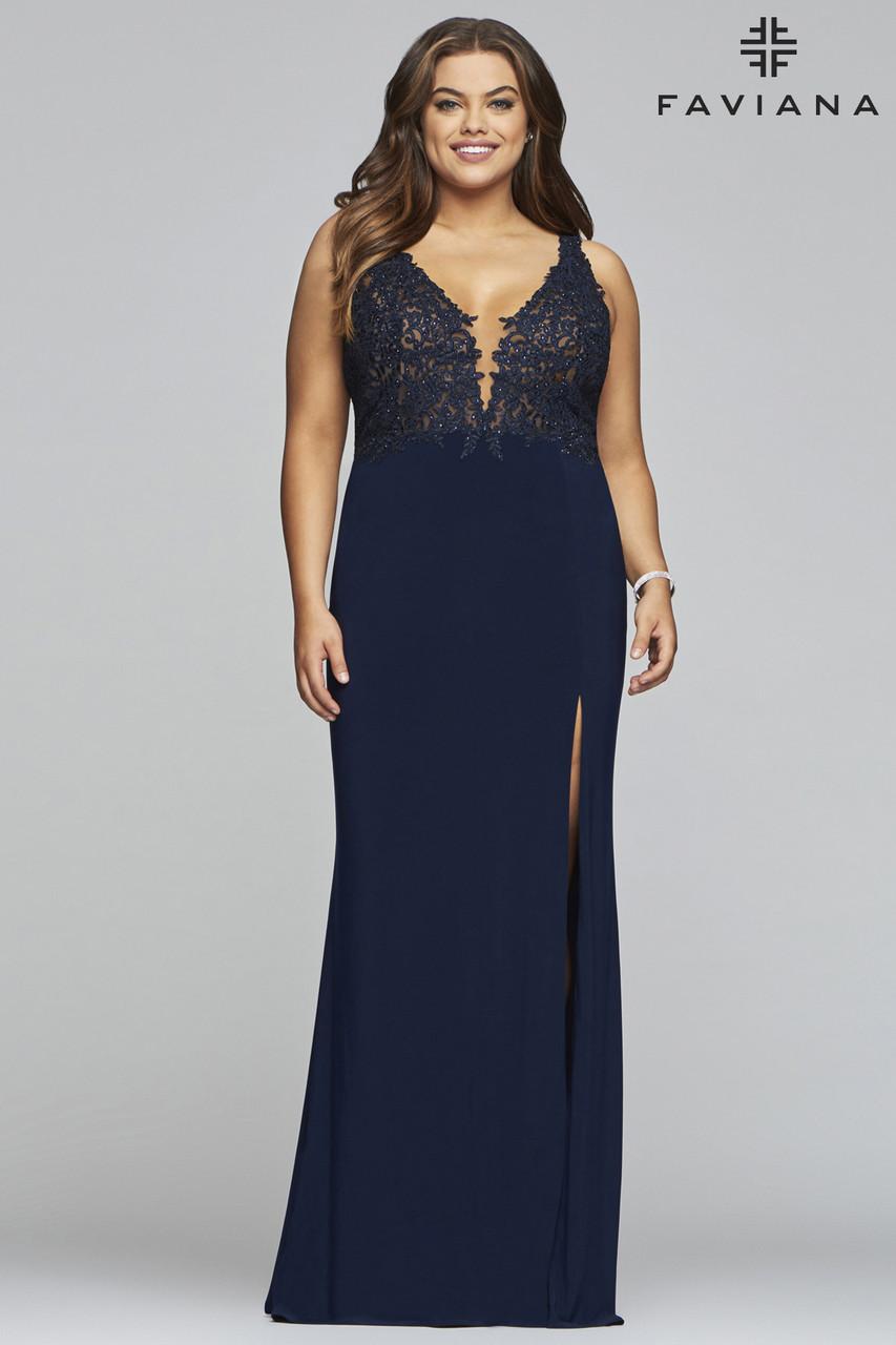 Faviana 9463 Plus Size Dress
