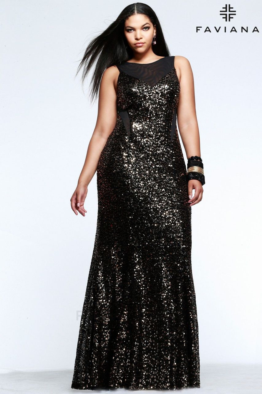 Faviana 9357 Plus Size Dress