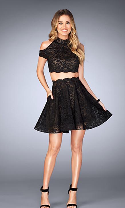 La Femme 25021 Short Dress