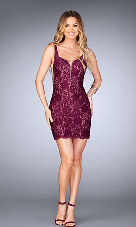 La Femme 25025 Short Dress