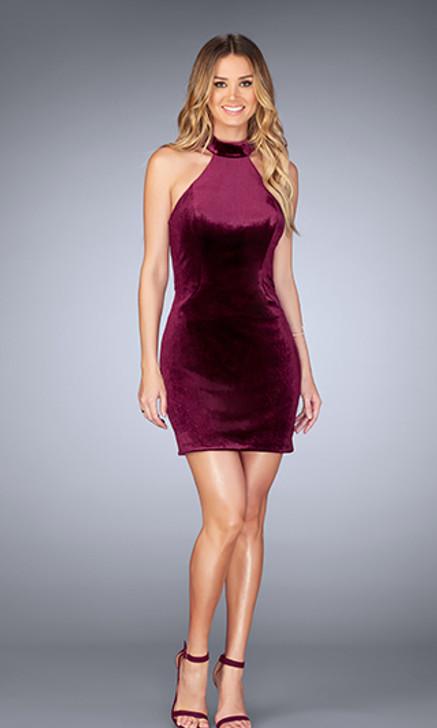 La Femme 25032 Short Dress