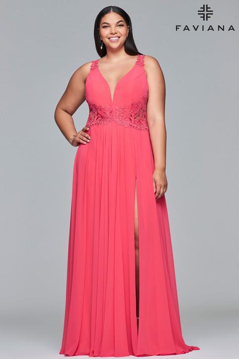 Faviana 9433 Plus Size Dress
