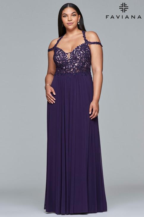 Faviana 9439 Plus Size Dress