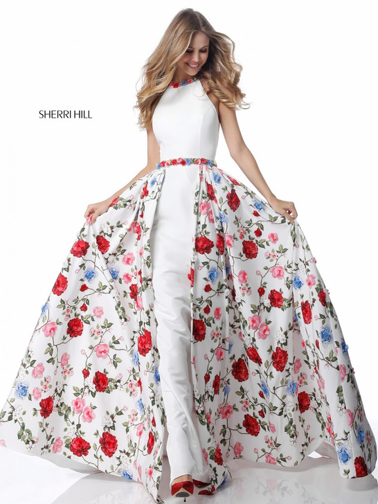 Sherri Hill 51796 Floral Dress