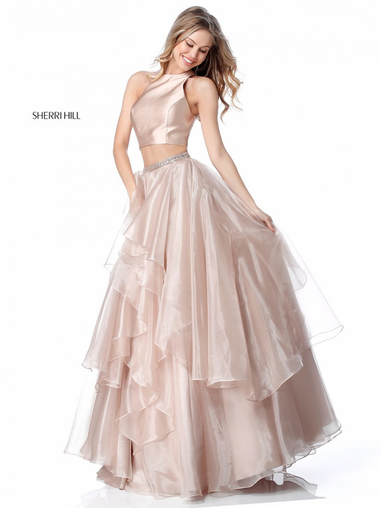 Sherri Hill 51960 Two Piece Ballgown Dress