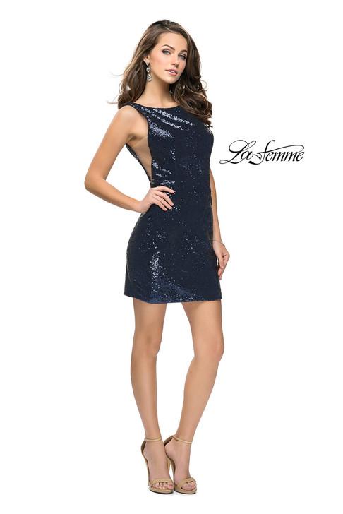 La Femme 26614 short homecoming dress
