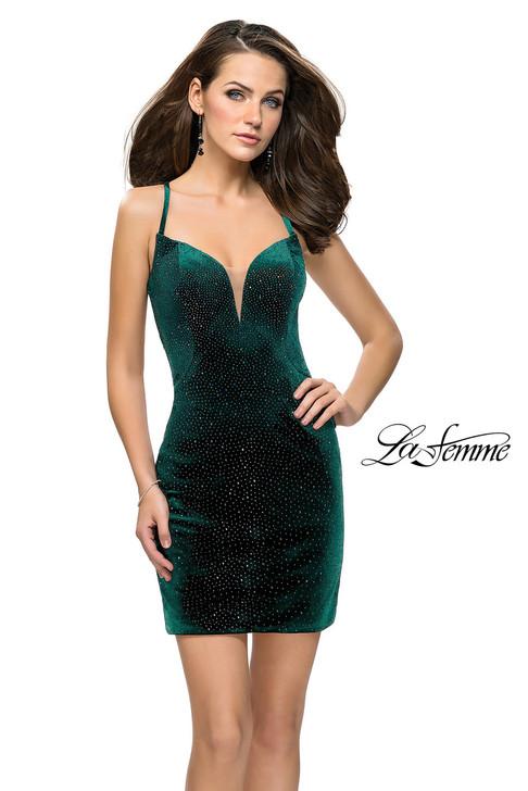 La Femme 26620 short homecoming dress