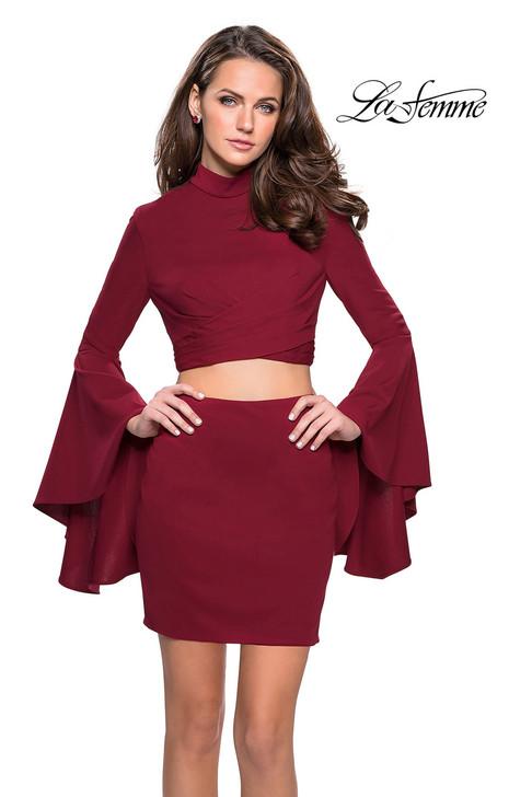 La Femme 26621 short homecoming dress