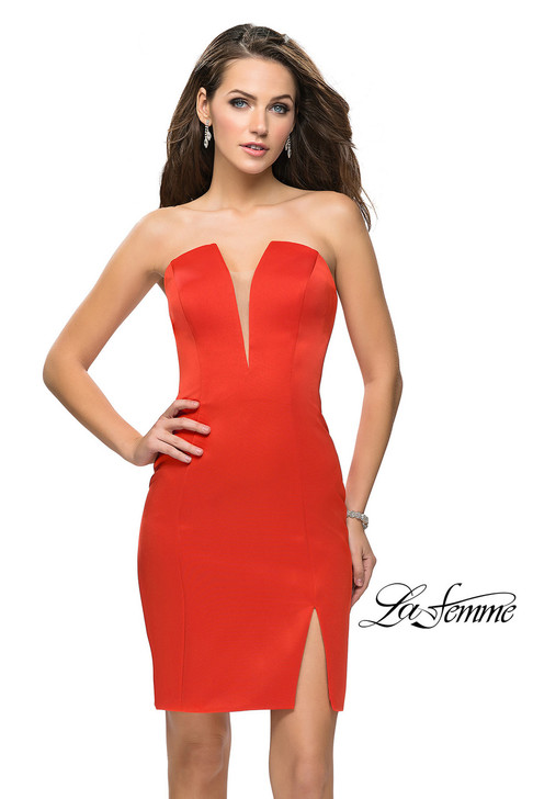 La Femme 26629 short homecoming dress