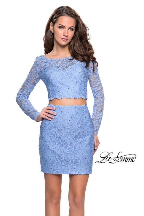 La Femme 26767 Short Dress