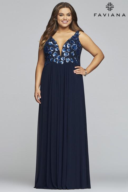 Faviana 9443 Plus Size Dress