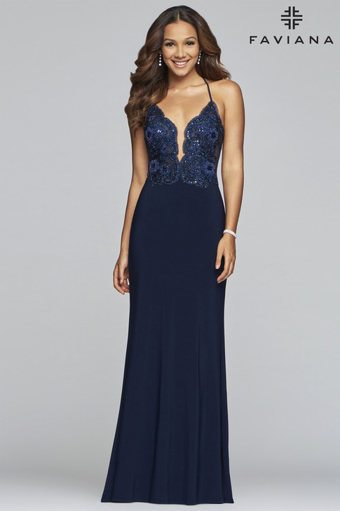 Faviana S10273 Fitted Dress