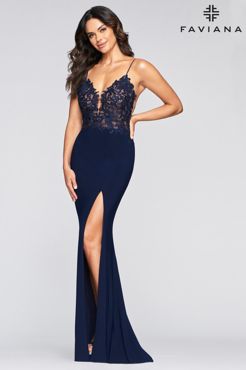 Faviana S10275 Fitted Dress