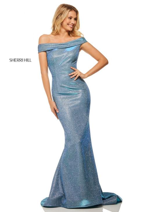 Sherri Hill 52825 Glitter Dress