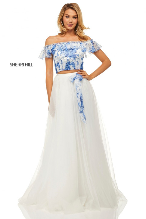 Sherri Hill 52910 Two Piece Dress