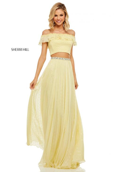 Sherri Hill 52800 Two Piece Dress