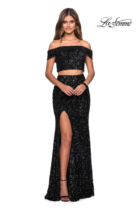 La Femme 27020 Long Prom Dress