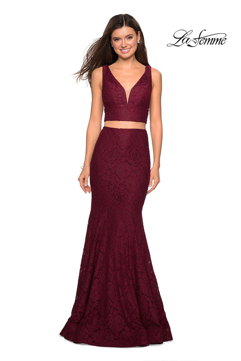 La Femme 27262 two piece dress