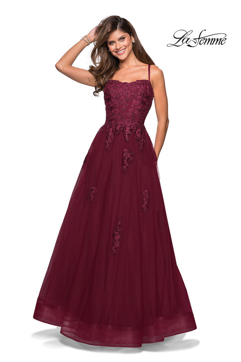 La Femme 27441 prom dress