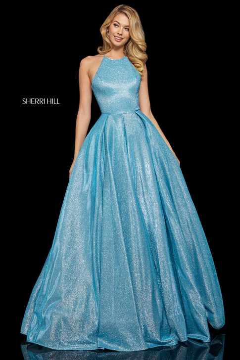 Sherri Hill 52964 Glitter Ballgown Dress
