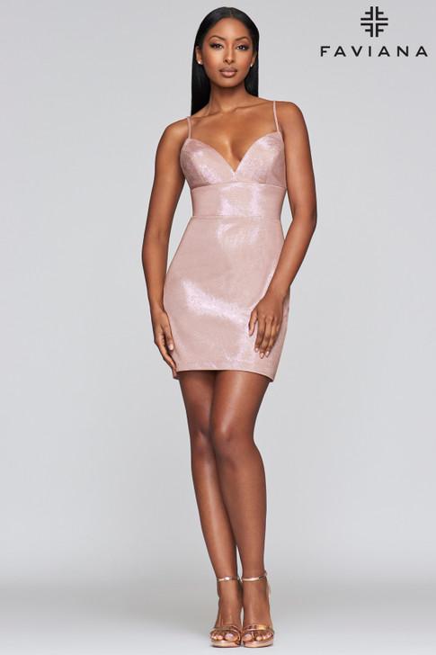 Faviana S10350 Short Dress