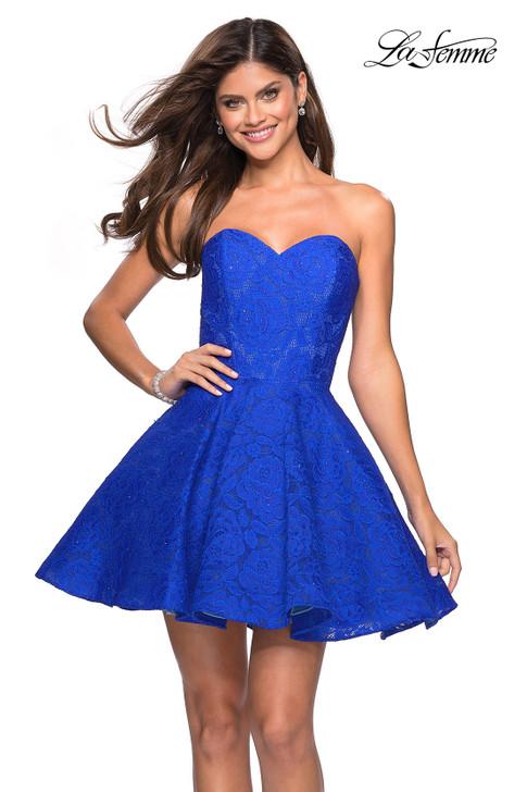La Femme 27334 Short Homecoming Dress
