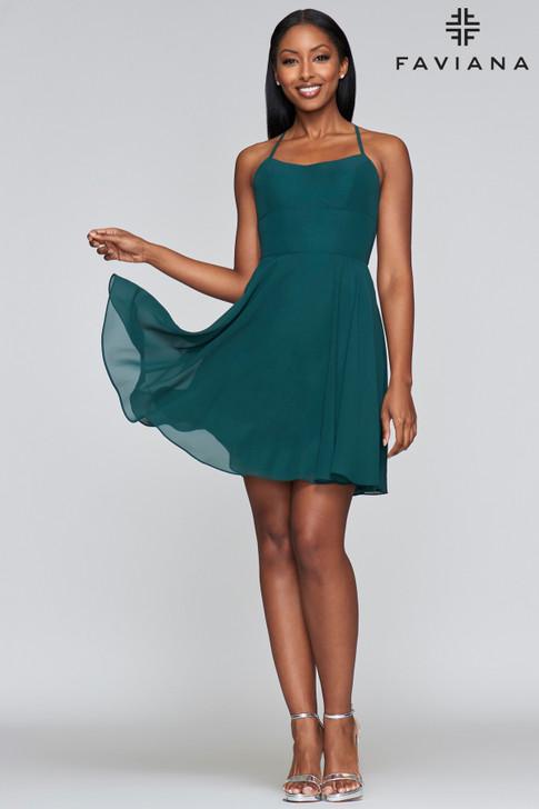 Faviana S10369 short dress