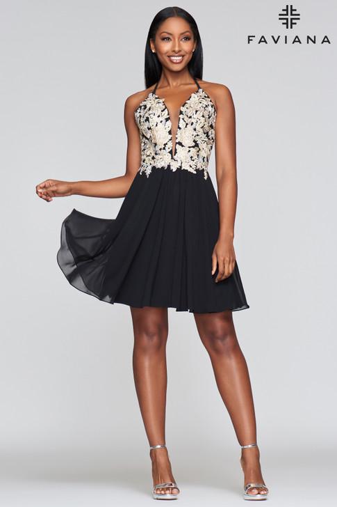 Faviana 10372 short dress