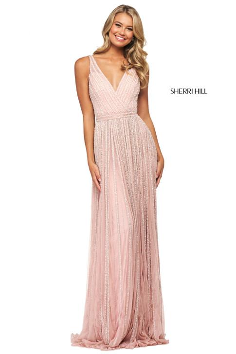 Sherri Hill 53867 Beaded Dress