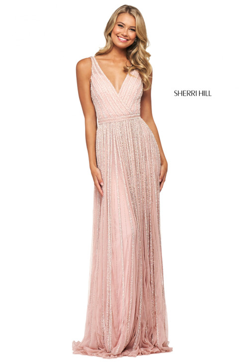 Sherri Hill 53867 Beaded Dress