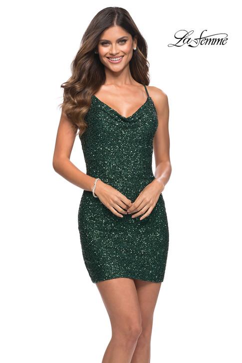 La Femme 30104 homecoming dress