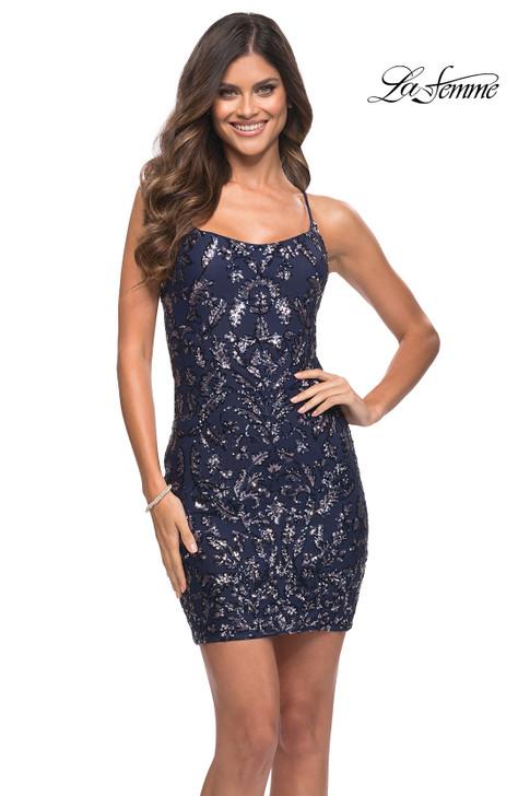 La Femme 30149 homecoming dress